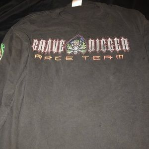 Grave Digger 20th Anniversary long sleeve shirt XL